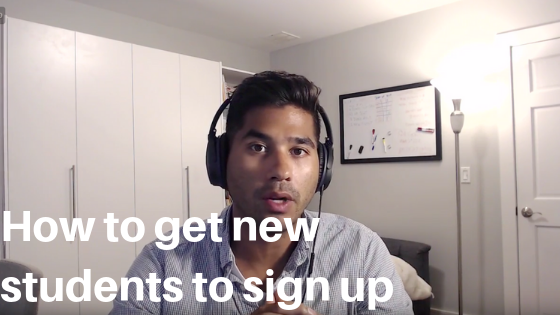 How to bring a new student into your martial arts school so they actually sign up
